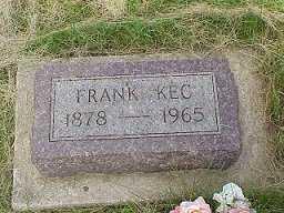 KEC, FRANK - Jasper County, Iowa | FRANK KEC