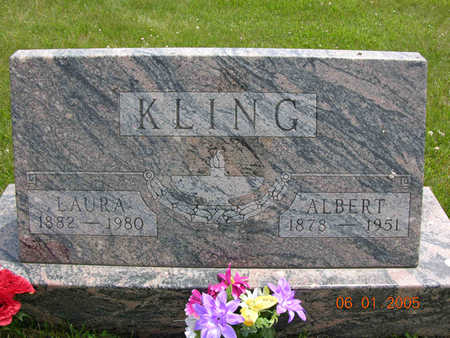 KLING, ALBERT H. - Jasper County, Iowa | ALBERT H. KLING