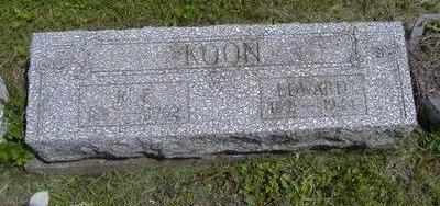 KOON, EDWARD - Jasper County, Iowa | EDWARD KOON