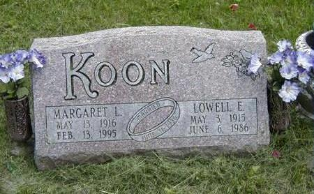 LOWERY KOON, MARGARET - Jasper County, Iowa | MARGARET LOWERY KOON