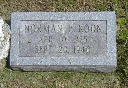 KOON, NORMAN - Jasper County, Iowa | NORMAN KOON