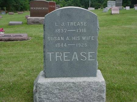 TREASE, L. J. AND SUSAN A. - Jasper County, Iowa | L. J. AND SUSAN A. TREASE