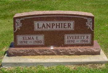 LANPHIER, EVERETT R. - Jasper County, Iowa | EVERETT R. LANPHIER
