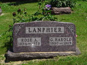 LANPHIER, ROSE ANNE - Jasper County, Iowa | ROSE ANNE LANPHIER