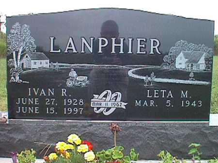 BURKHARDT LANPHIER, LETA MARIE - Jasper County, Iowa | LETA MARIE BURKHARDT LANPHIER