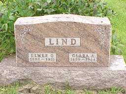 PHILLIPS LIND, CLARA - Jasper County, Iowa | CLARA PHILLIPS LIND