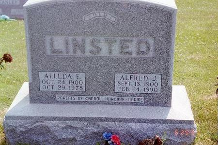 LINSTED, ALLEDA E. - Jasper County, Iowa | ALLEDA E. LINSTED