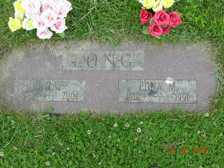 LONG, ISAAC RAYMOND - Jasper County, Iowa | ISAAC RAYMOND LONG