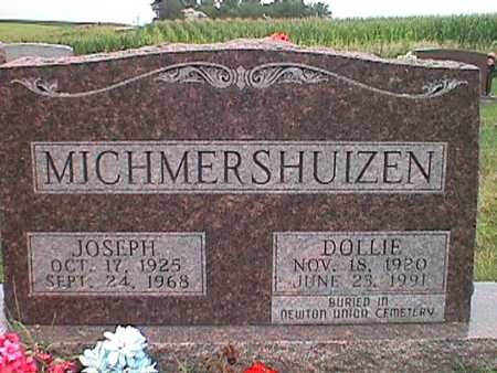 MICHMERSHUIZEN, DOLLY WALKER - Jasper County, Iowa | DOLLY WALKER MICHMERSHUIZEN
