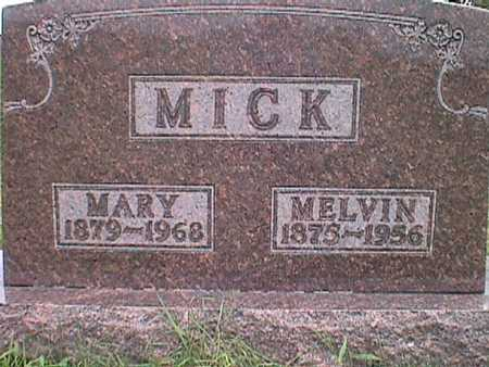 WEIDEMAN MICK, MARY ANN - Jasper County, Iowa | MARY ANN WEIDEMAN MICK