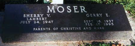 MOSER, GERRY EVAN - Jasper County, Iowa   GERRY EVAN MOSER
