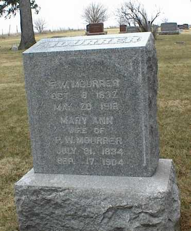 FLEMING MOURRER, MARY ANN - Jasper County, Iowa | MARY ANN FLEMING MOURRER