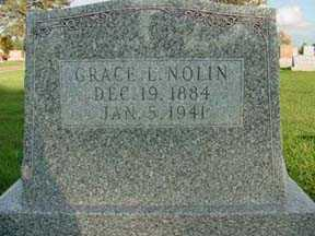 NOLIN, GRACE L - Jasper County, Iowa | GRACE L NOLIN