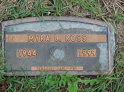 ERGENBRIGHT ROSS, MYRA - Jasper County, Iowa | MYRA ERGENBRIGHT ROSS