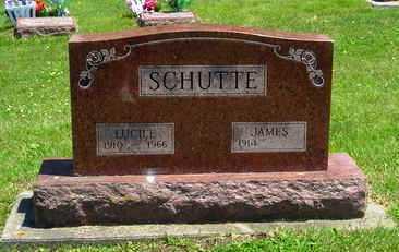 CLAUSEN SCHUTTE, LUCILE F. - Jasper County, Iowa | LUCILE F. CLAUSEN SCHUTTE