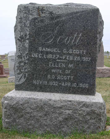 SCOTT, ELLEN M. - Jasper County, Iowa | ELLEN M. SCOTT