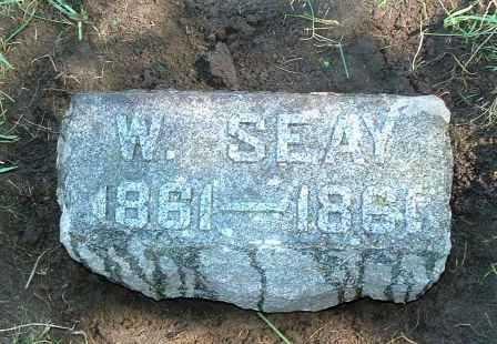 SEAY, W. - Jasper County, Iowa | W. SEAY