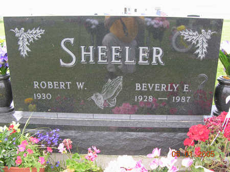 SHEELER, BEVERLY E. - Jasper County, Iowa | BEVERLY E. SHEELER