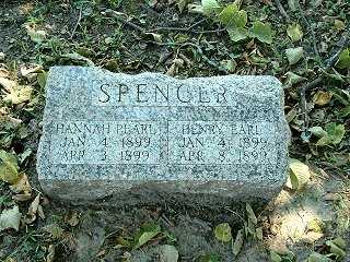 SPENCER, HANNAH PEARL - Jasper County, Iowa | HANNAH PEARL SPENCER