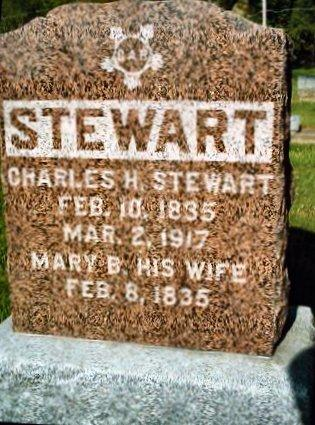WARD STEWART, MARY V. - Jasper County, Iowa | MARY V. WARD STEWART