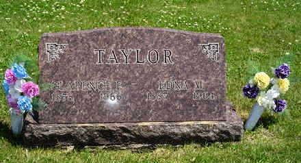 CLAUSEN TAYLOR, EDNA M. - Jasper County, Iowa | EDNA M. CLAUSEN TAYLOR
