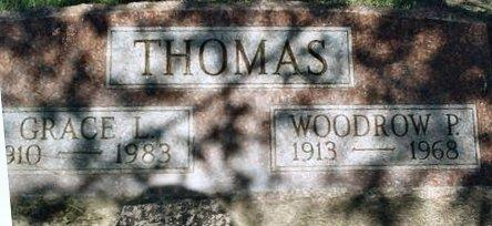 THOMAS, GRACE L. - Jasper County, Iowa | GRACE L. THOMAS