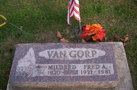 VAN GORP, MILDRED - Jasper County, Iowa | MILDRED VAN GORP