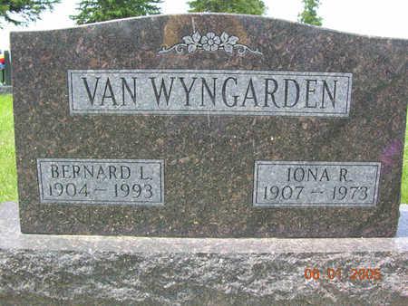 VAN WYNGARDEN, IONA R. - Jasper County, Iowa | IONA R. VAN WYNGARDEN