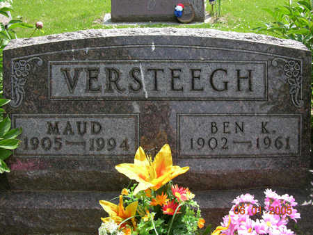 VERSTEEGH, MAUD - Jasper County, Iowa | MAUD VERSTEEGH