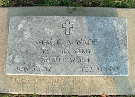 WADE, MACK (BURGS) ALEXANDER - Jasper County, Iowa | MACK (BURGS) ALEXANDER WADE