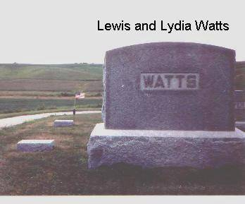 HILL WATTS, LYDIA - Jasper County, Iowa | LYDIA HILL WATTS