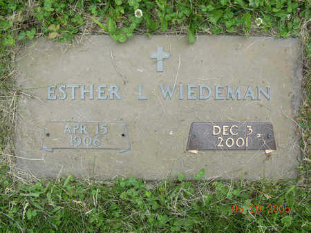 KOPPIN WEIDEMAN, ESTHER - Jasper County, Iowa | ESTHER KOPPIN WEIDEMAN