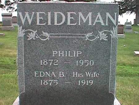 WEIDEMAN, PHILIP W. - Jasper County, Iowa | PHILIP W. WEIDEMAN