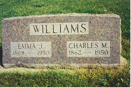 WILLIAMS, EMMA - Jasper County, Iowa | EMMA WILLIAMS