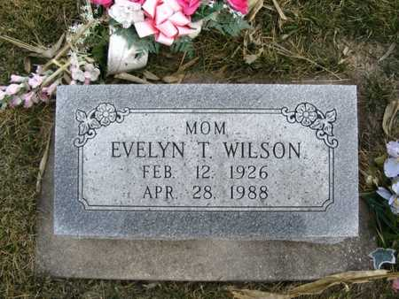 WILSON, EVELYN - Jasper County, Iowa | EVELYN WILSON