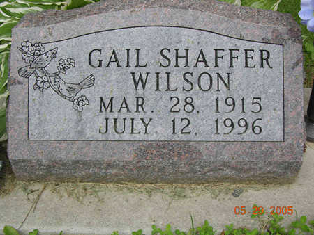 SHAFFER WILSON, GAIL - Jasper County, Iowa | GAIL SHAFFER WILSON