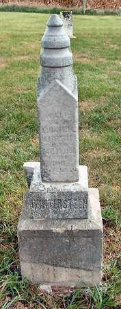 WINTERSTEEN, WILLIE - Jasper County, Iowa | WILLIE WINTERSTEEN