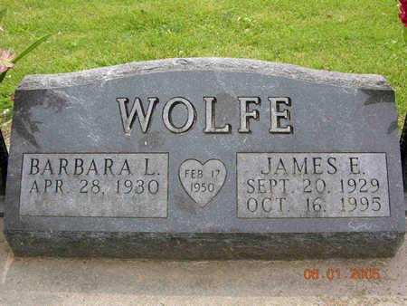 WOLFE, JAMES EDWARD - Jasper County, Iowa | JAMES EDWARD WOLFE