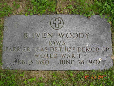 WOODY, ROBERT IVEN - Jasper County, Iowa | ROBERT IVEN WOODY