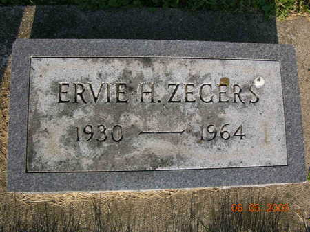 ZEGERS, ERVIE - Jasper County, Iowa | ERVIE ZEGERS