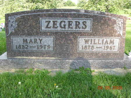 ZEGERS, JOHN WILLIAM - Jasper County, Iowa | JOHN WILLIAM ZEGERS