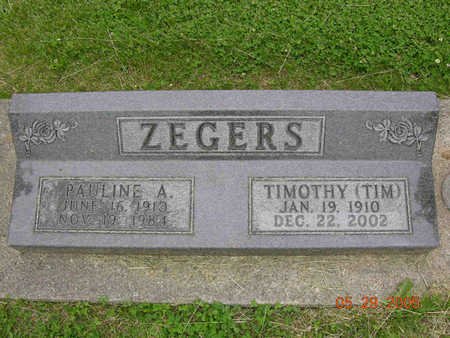ZEGERS, TIM - Jasper County, Iowa | TIM ZEGERS