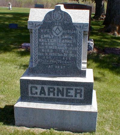 WALTER GARNER, EMILY - Jasper County, Iowa | EMILY WALTER GARNER