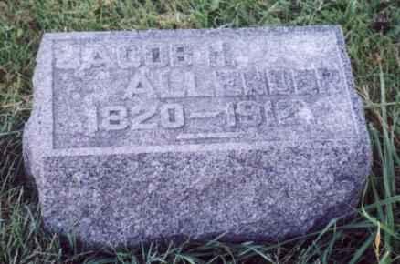 ALLENDER, JACOB H. - Jefferson County, Iowa   JACOB H. ALLENDER