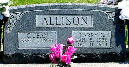 ALLISON, LARRY G. - Jefferson County, Iowa | LARRY G. ALLISON