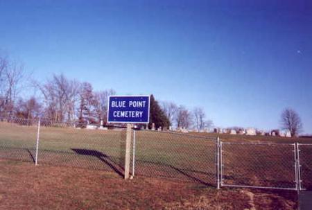 BLUE POINT, CEMETERY - Jefferson County, Iowa   CEMETERY BLUE POINT