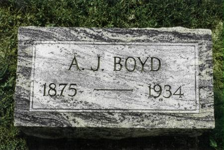BOYD, A.J. - Jefferson County, Iowa | A.J. BOYD
