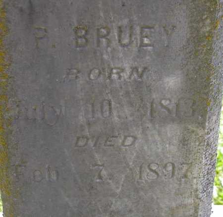 BRUEY, P. - Jefferson County, Iowa | P. BRUEY
