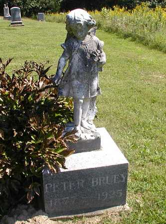 BRUEY, PETER - Jefferson County, Iowa | PETER BRUEY