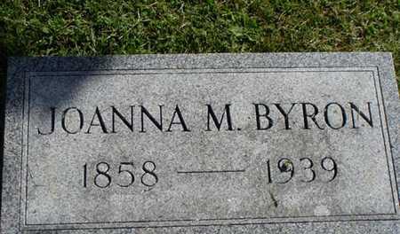 BYRON, JOANNA - Jefferson County, Iowa | JOANNA BYRON